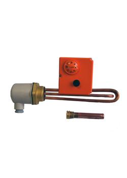 ТЭН + термостат 6 кВт медь